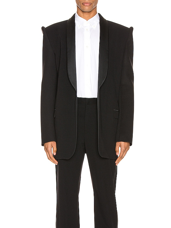 Suspend Tux Jacket in Black