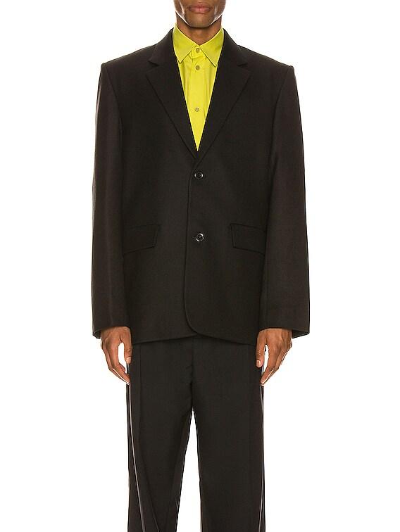 Seamless Jacket in Black