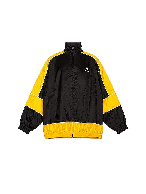 Zip Up Jacket in Yellow