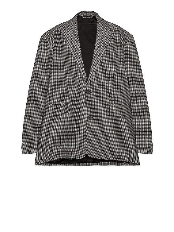 SB Boxy Jacket in Black & White