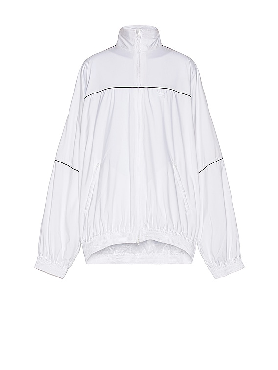 Tracksuit Jacket in White
