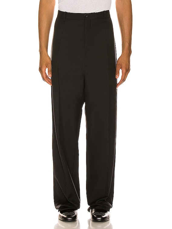 Baggy Tailored Pants in Black