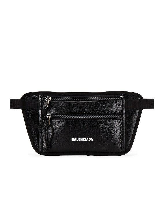Weekend Belt Wallet in Black
