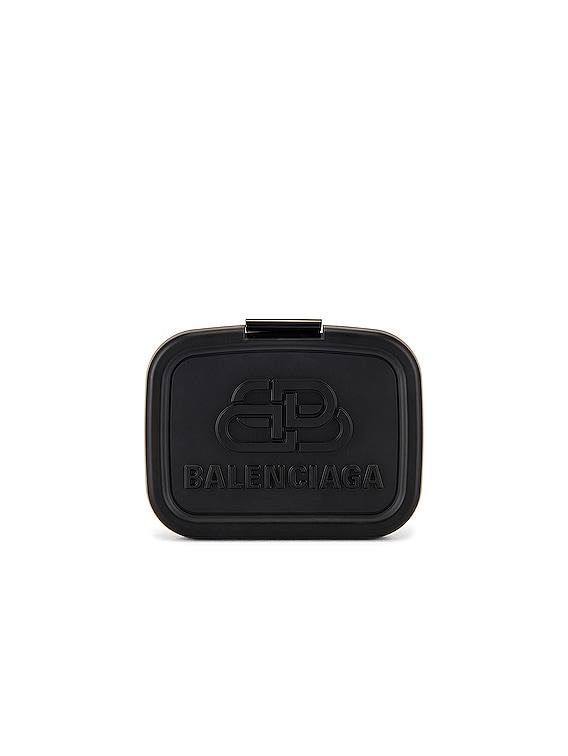 Lunch Box Mini Case in Black