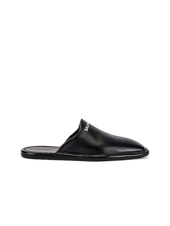 Carrea Lux Loafer in Black & Black