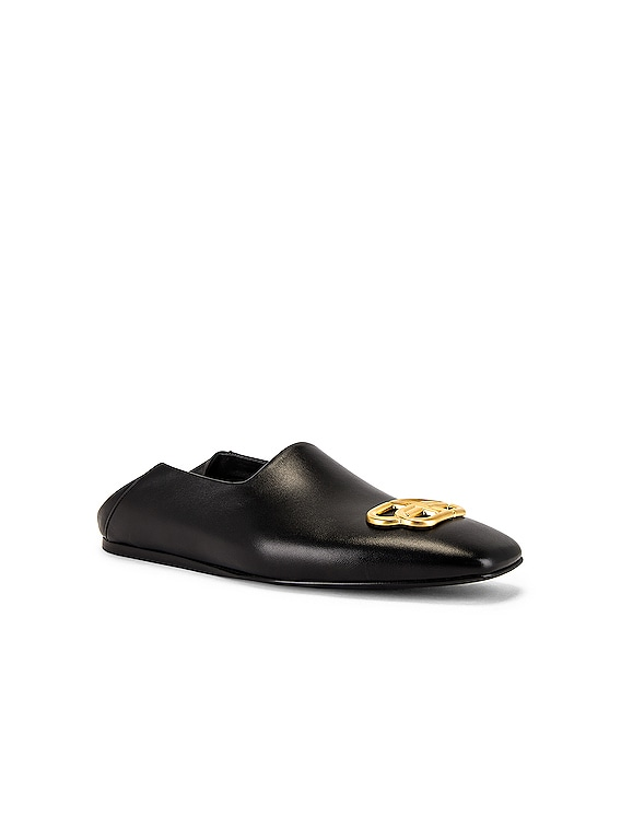 Cosy Bb Loafer F005 in Black & Gold