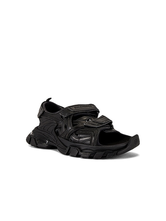 Track Sandal in Black