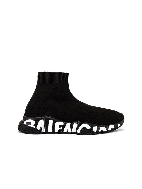Speed Lt Graffiti Sneaker in Black