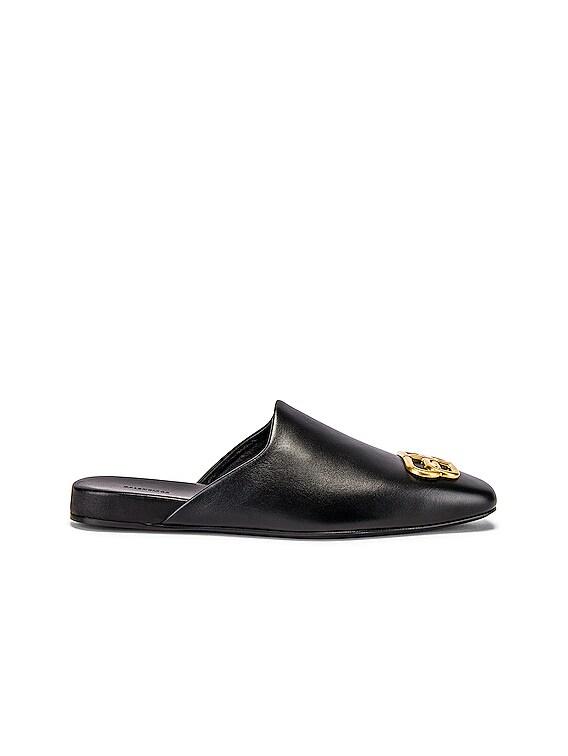 Cosy Carrera Lux Slipper & Gold in Black