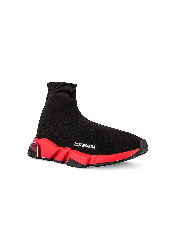 Speed Lt Sneaker in Black & Red & Red & Black