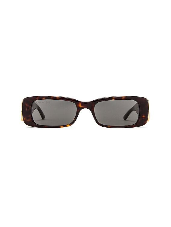 Dynasty Acetate Sunglasses in Havana