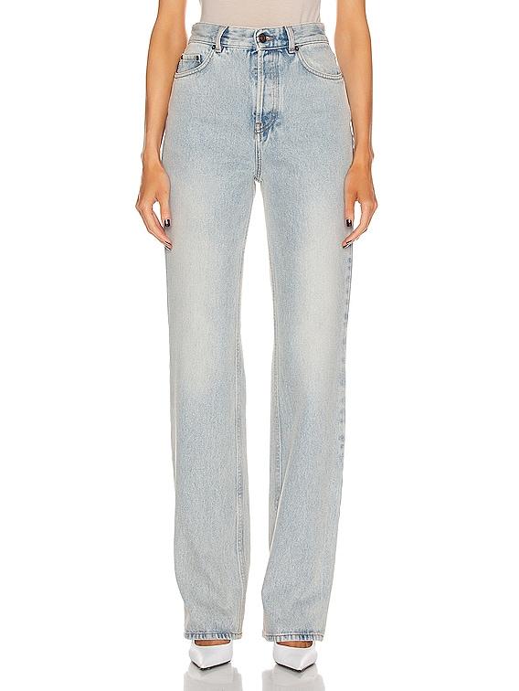 Straight Jean in 80s Dirt Bleach Blue