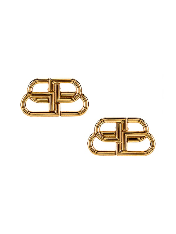 BB Stud Earrings in Gold