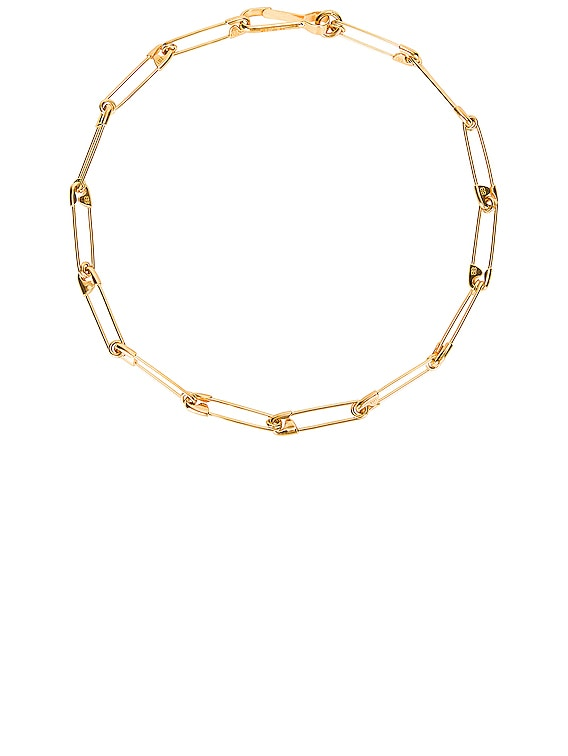 Punk Necklace in Gold