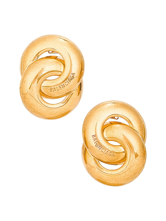 Twin Earrings in Gold