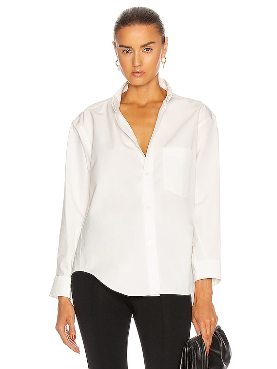 Twisted Shirt in White
