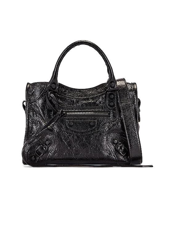 Mini Classic City Bag in Black