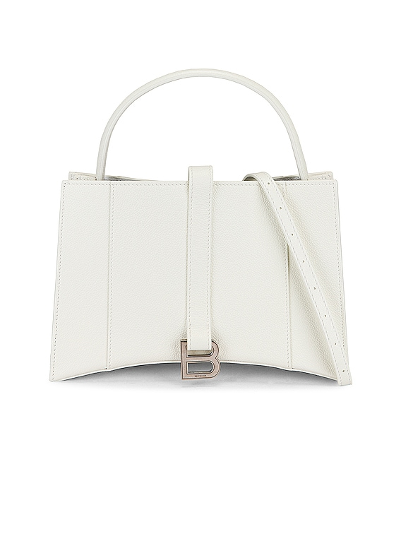 XS Hourglass Tote in White
