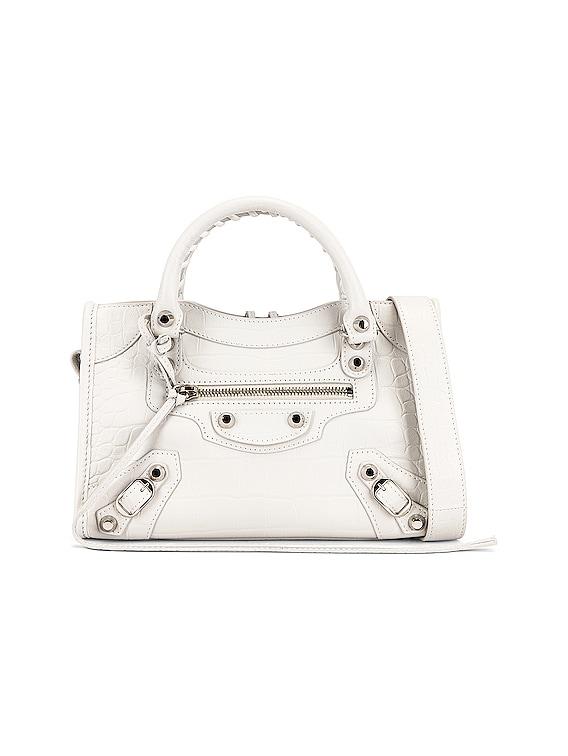 Classic Mini City Bag in White