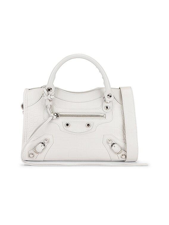 Mini City Bag in White