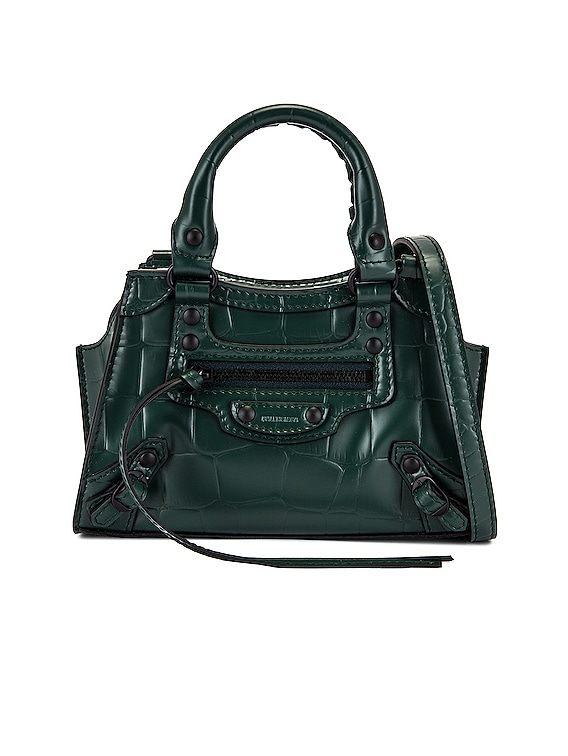 Nano Neo Classic Bag in Forest Green