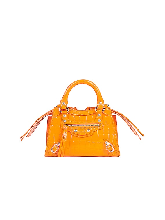 Mini Neo Classic City Bag in Orange