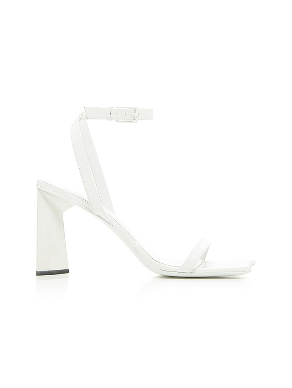 Moon Sandals in Optical White