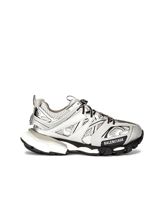 Track Sneakers in Silver
