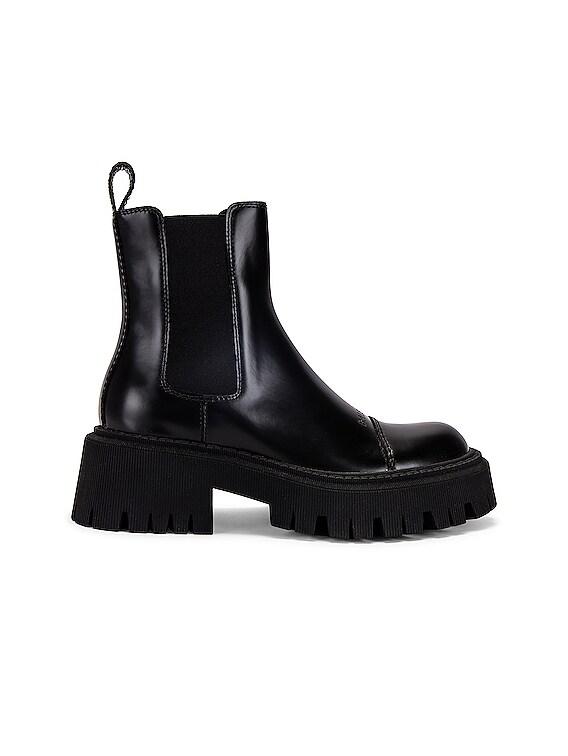 Tractor Booties in Black