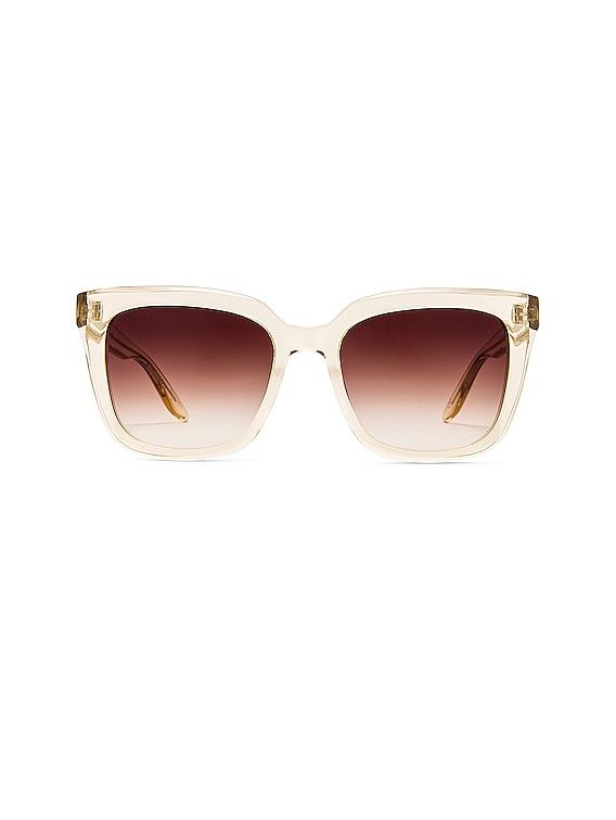 Bolsha Sunglasses in Champagne & Smokey Topaz