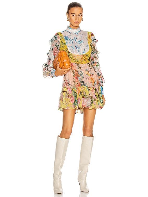 Fluer Mini Dress in Multicolor