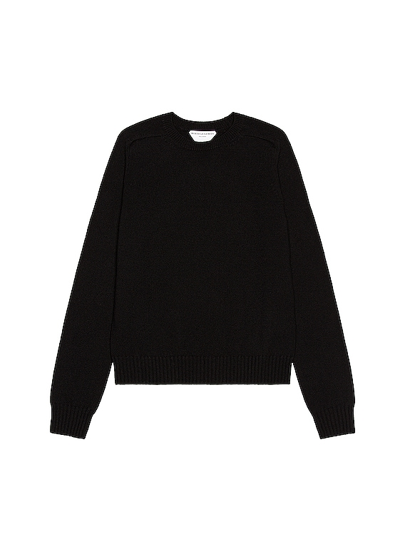 Crewneck Sweater in Black
