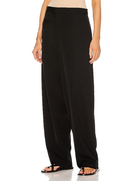 Trousers in Nero