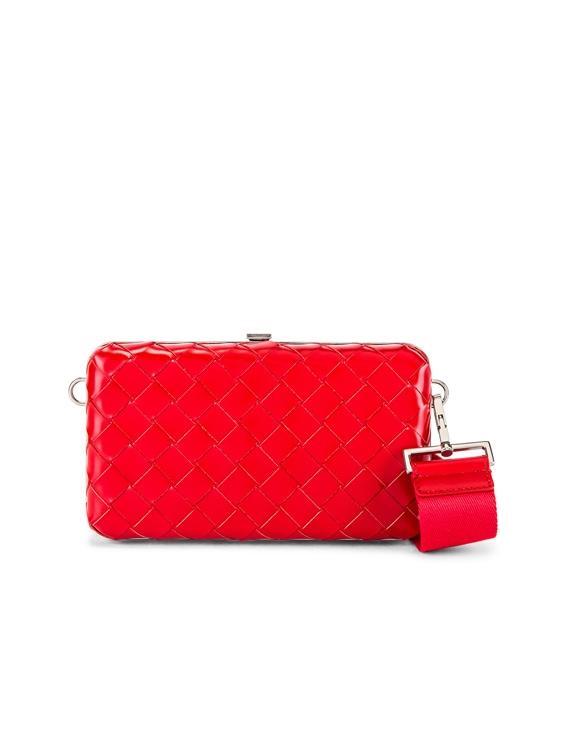 Shoulder Bag in Bright Red