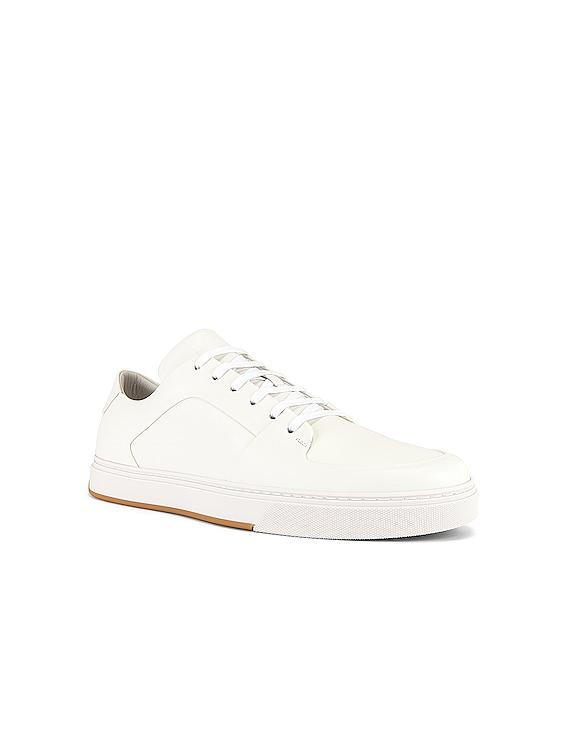 Low Top Sneaker in Bianco