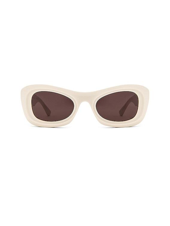 Acetate Sunglasses in Ivory