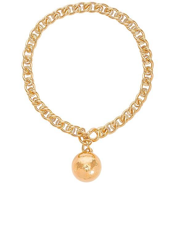 Necklace in Argento Oro Giallo