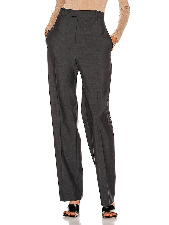 Tailored Pant in Charcoal Melange
