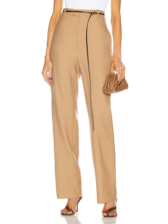 Tailored Pant in Camel