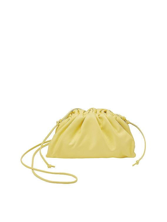 The Mini Pouch Crossbody Bag in Sherbet & Silver