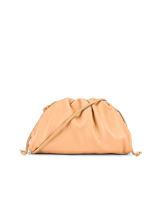 The Mini Pouch Crossbody Bag in Almond