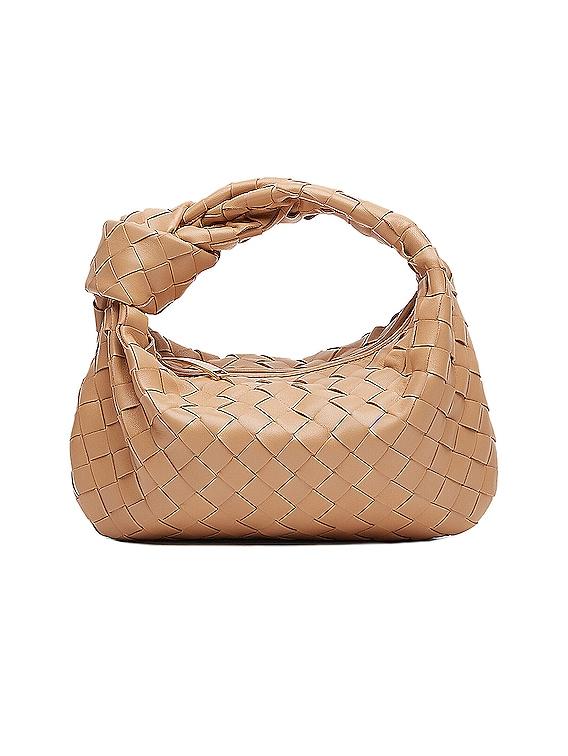 Mini Jodie Bag in Sandalwood & Gold