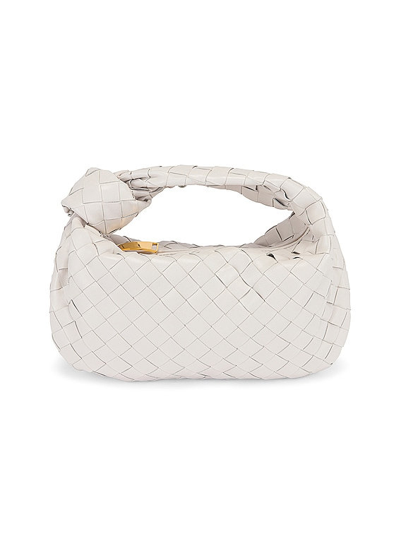 Mini Jodie Bag in Chalk & Gold