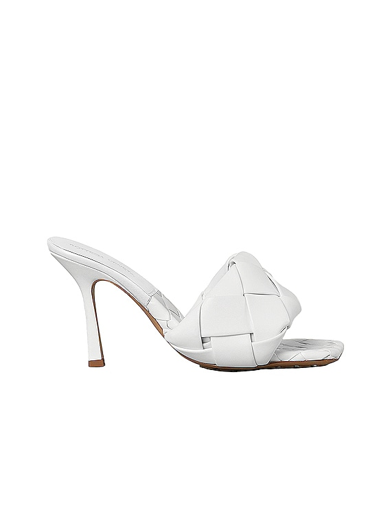 The Lido Sandals in Optic White