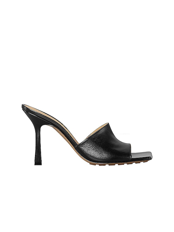Stretch Mules in Black