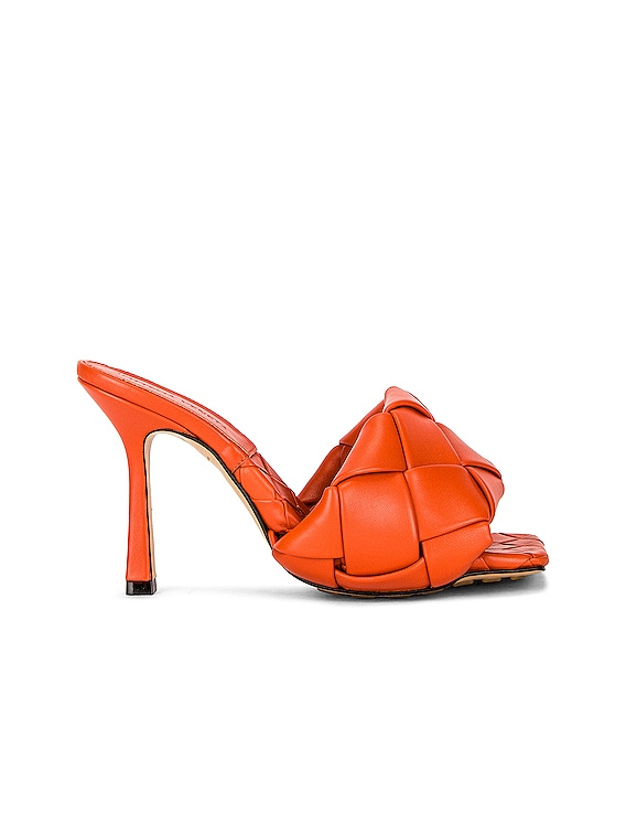 The Lido Sandals in Paprika