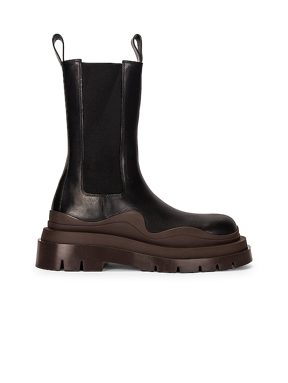 BV Tire Boots in Black & Brown