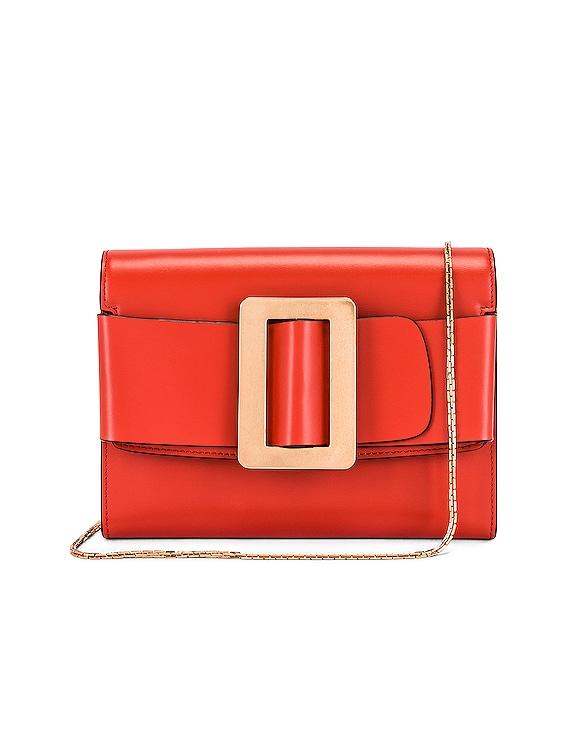 Buckle Travel Case in San Marzano Red