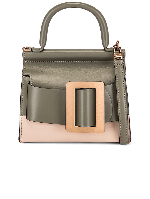 Karl 19 Two-Tone Bag in Kalamata, Ecru & Gold