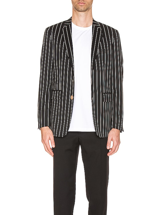 Slim Fit Blazer in Black